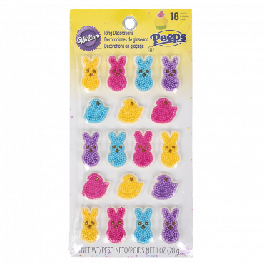 PEEPS® Wilton 18 pc. Decoration Set