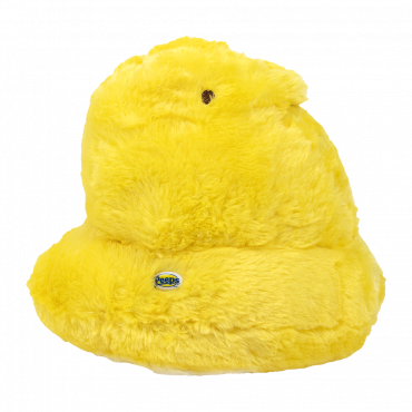"""PEEPS® 12"""" Yellow Shaggy Scented Chick"""