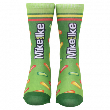 MIKE AND IKE® Striped Adult Socks