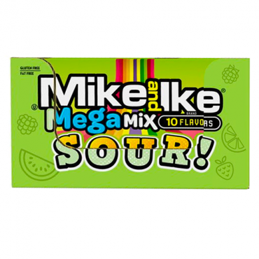 MIKE AND IKE® Mega Mix Sour 5oz. Theater Boxes, 12 Count