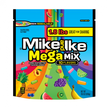 MIKE AND IKE® Mega Mix 28.8 oz. Stand Up Bag