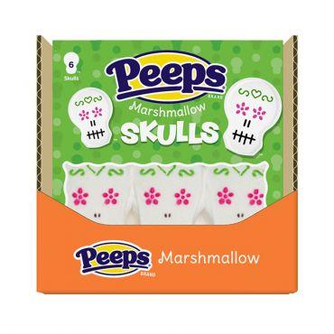PEEPS®  Marshmallow Skulls 12 pack Case.