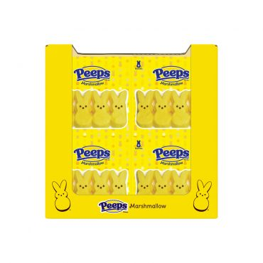 PEEPS® 8ct. Yellow Marshmallow Bunnies Package, 40 Count