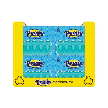 PEEPS® 10ct. Blue Marshmallow Chicks Package, 36 Count