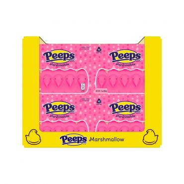 PEEPS® 10ct. Pink Marshmallow Chicks Package, 36 Count
