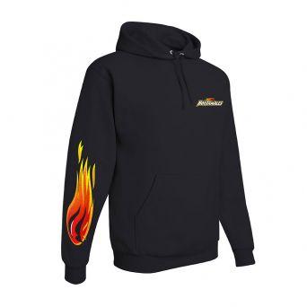 HOT TAMALES® Black Unisex Fire Hoodie