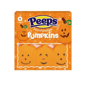 PEEPS® 6 ct. Marshmallow Pumpkins